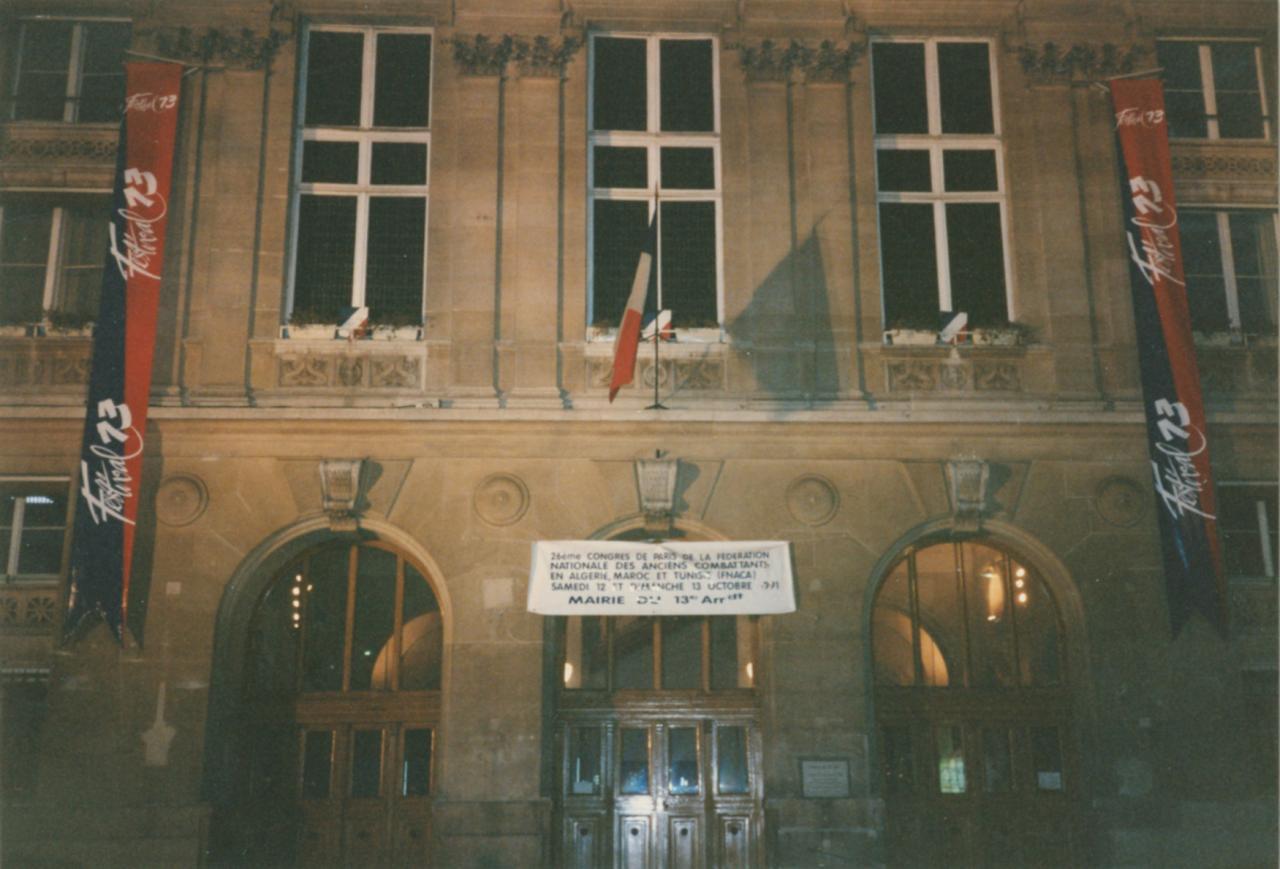 Salon du livre (Festival 13) Mairie de Paris